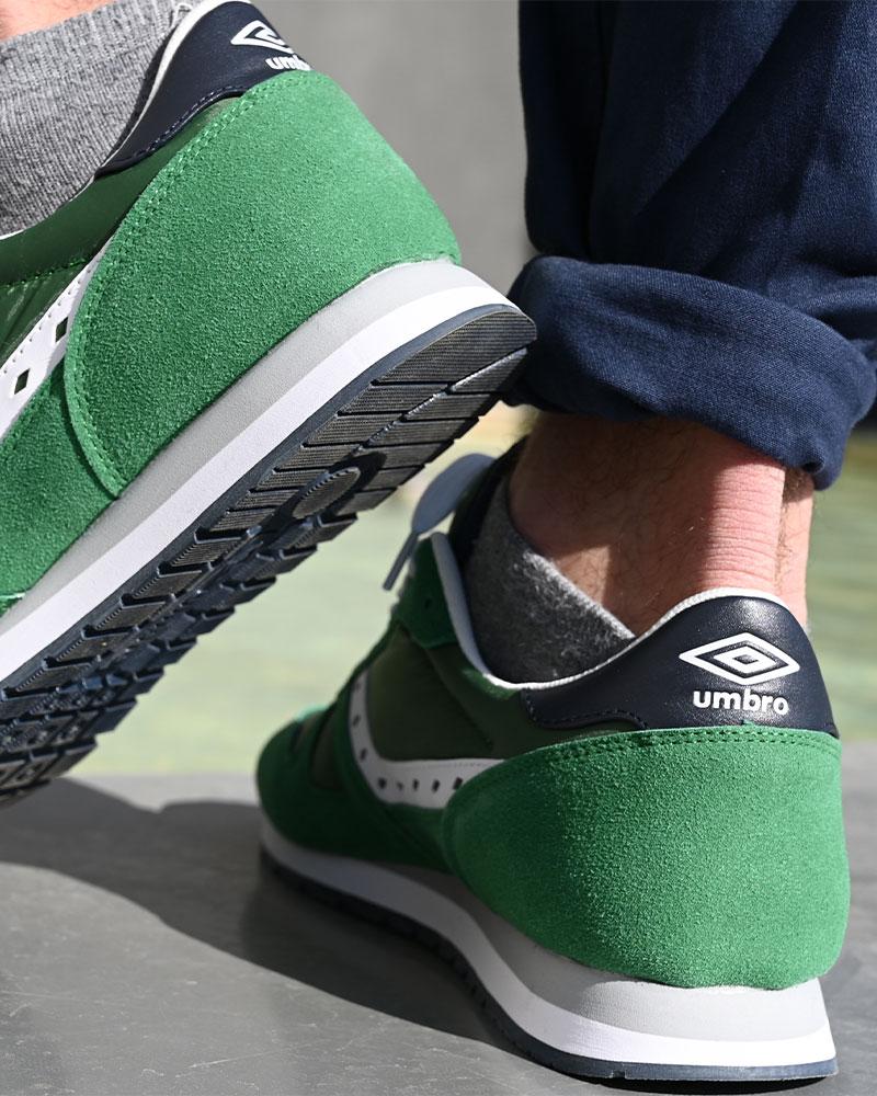 Umbro-Scarpe-Sportive-Sneakers-Footwear-Uomo-Verde-Flash-SD-lifestyle miniatura 8