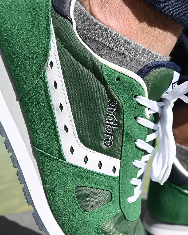 Umbro-Scarpe-Sportive-Sneakers-Footwear-Uomo-Verde-Flash-SD-lifestyle miniatura 4