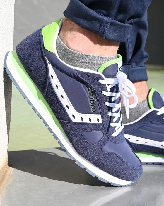 Scarpe Sportive Sneakers UMBRO Flash SD Uomo Blue Originale