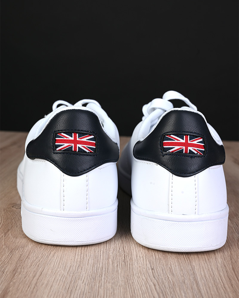 Umbro-Scarpe-Sportive-Sneakers-Bianco-Blue-Manchester-UK-Sportswear miniatura 4