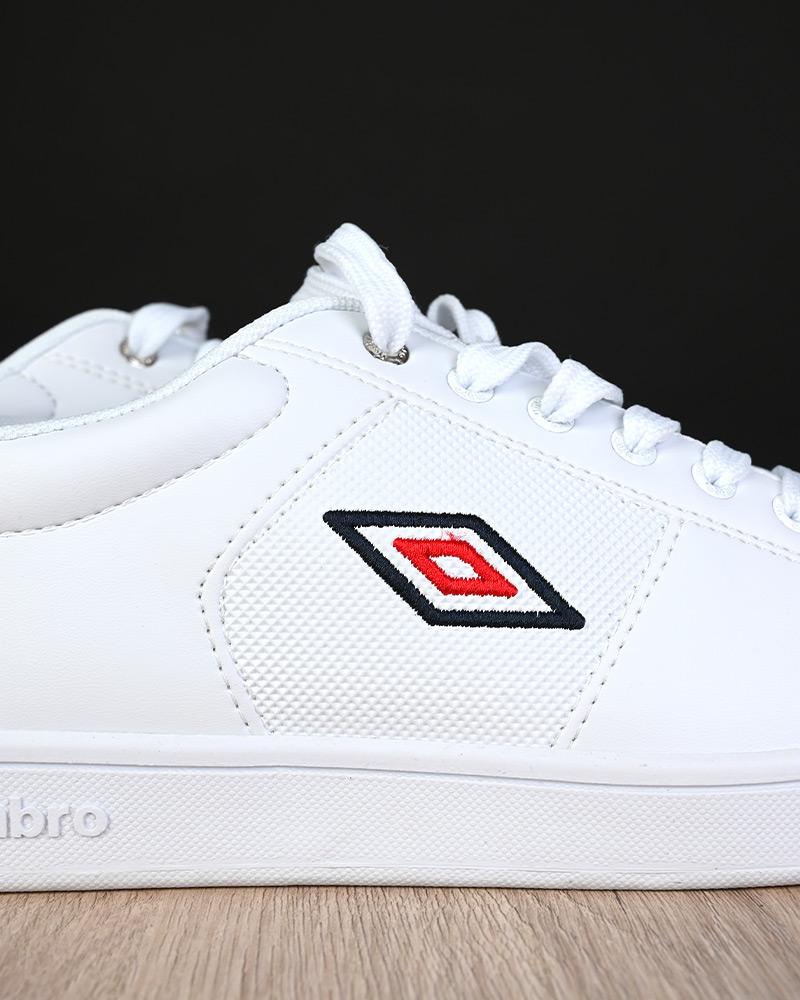 Umbro-Scarpe-Sportive-Sneakers-Bianco-Blue-Manchester-UK-Sportswear miniatura 5