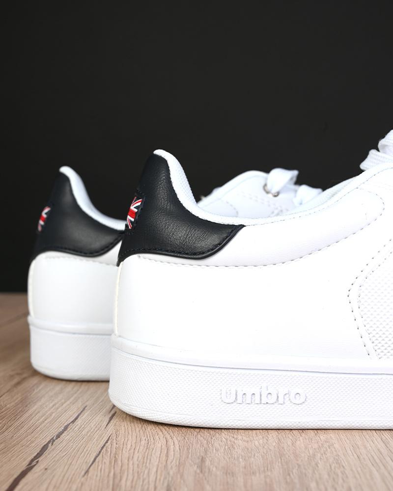 Umbro-Scarpe-Sportive-Sneakers-Bianco-Blue-Manchester-UK-Sportswear miniatura 9