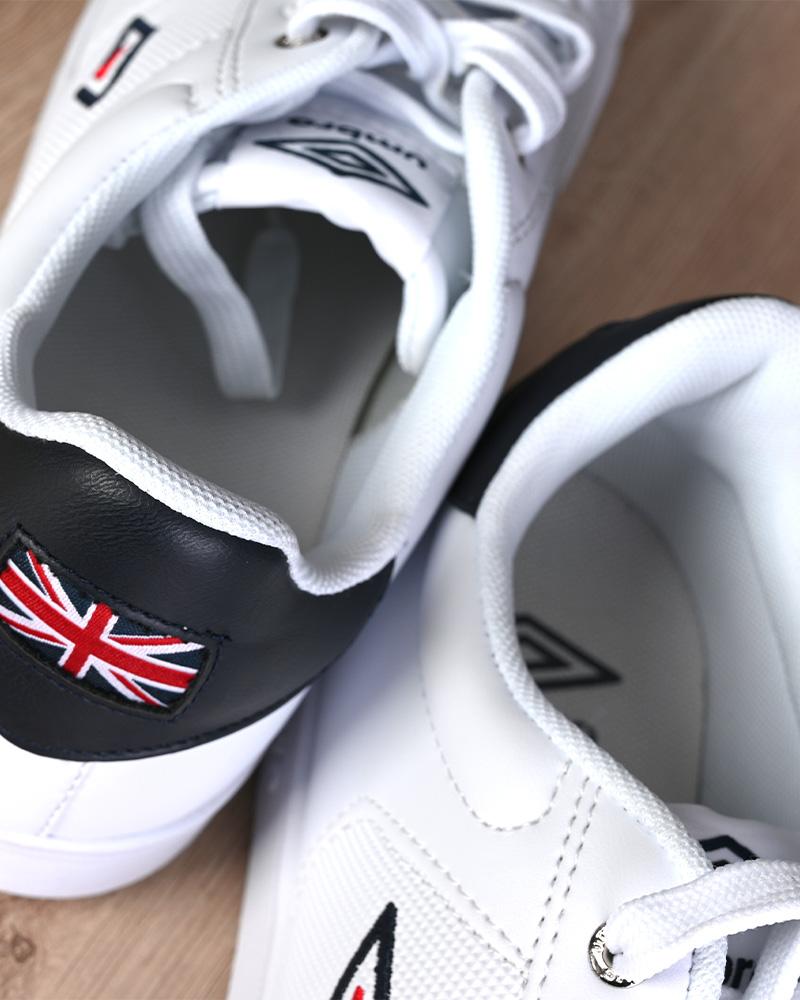 Umbro-Scarpe-Sportive-Sneakers-Bianco-Blue-Manchester-UK-Sportswear miniatura 6