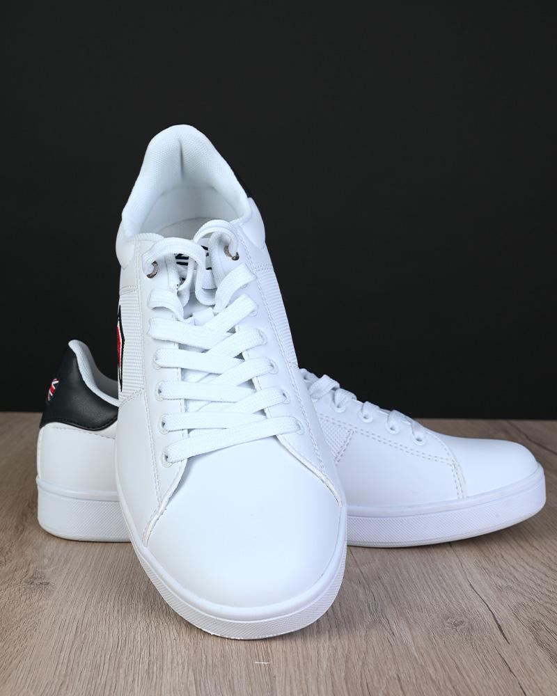 Umbro-Scarpe-Sportive-Sneakers-Bianco-Blue-Manchester-UK-Sportswear miniatura 8