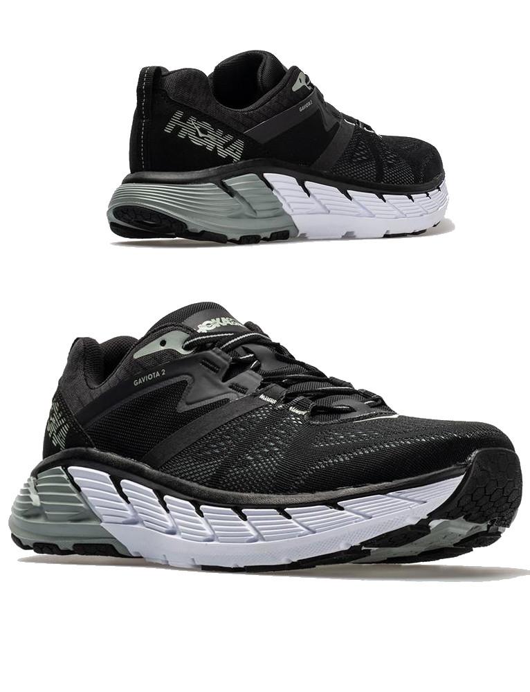 Hoka-ONE-ONE-Running-Shoes-Sneakers-GAVIOTA-2-Men-Black