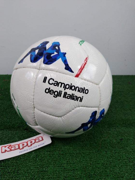 8265fcf964 ... Pallone Calcio Kappa Serie B Replica 2018 19 bianco cucito a mano - Football  Ball Kappa ...