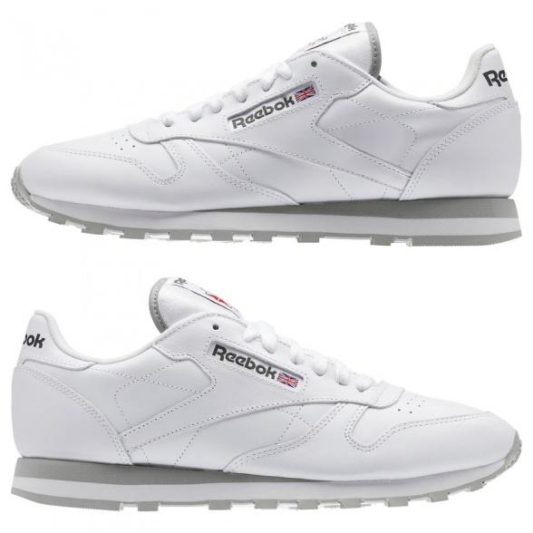 12effce42b576 ... Scarpe Sportive Sneakers Reebok Classic Leather Originals Vera pelle  Uomo Bianco - Sport Shoes Sneakers Reebok ...