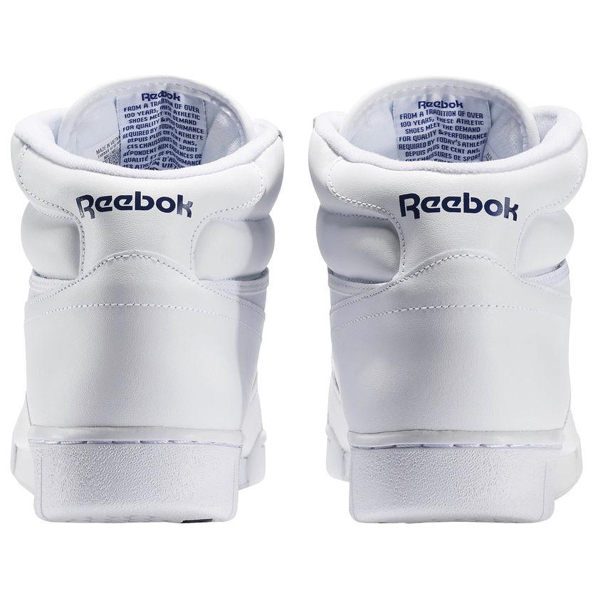 Reebok-Scarpe-Sneakers-Trainers-Sportive-Classic-Bianco-EX-O-FIT-HI miniature 7
