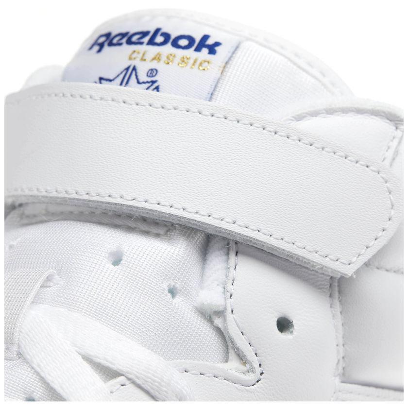 Reebok-Scarpe-Sneakers-Trainers-Sportive-Classic-Bianco-EX-O-FIT-HI miniature 10