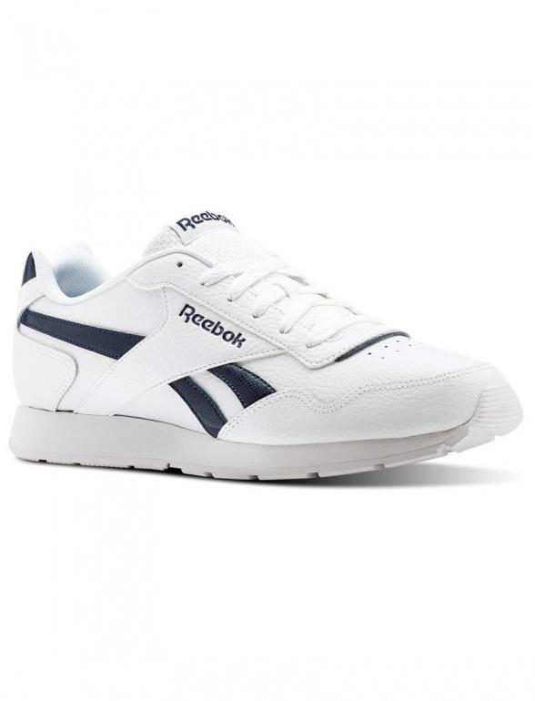 23d5e3c673c61 ... Scarpe Ginnastica Sneakers Reebok ROYAL GLIDE omo Bianco Blu Originale  - Sport boots shoes Sneakers Reebok ...