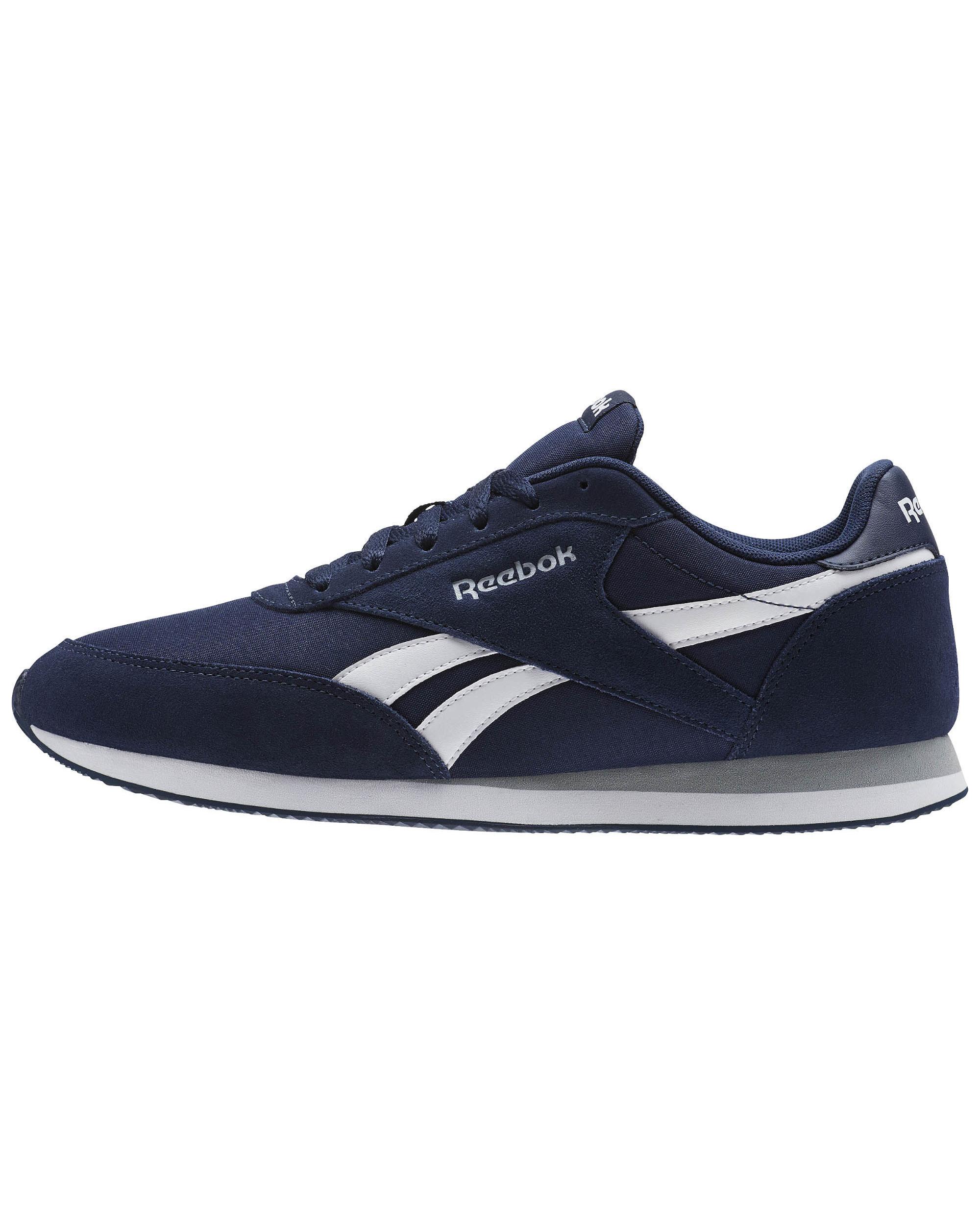 Reebok Scarpe Sneakers Sportive Royal classic jogger Blu Uomo | eBay
