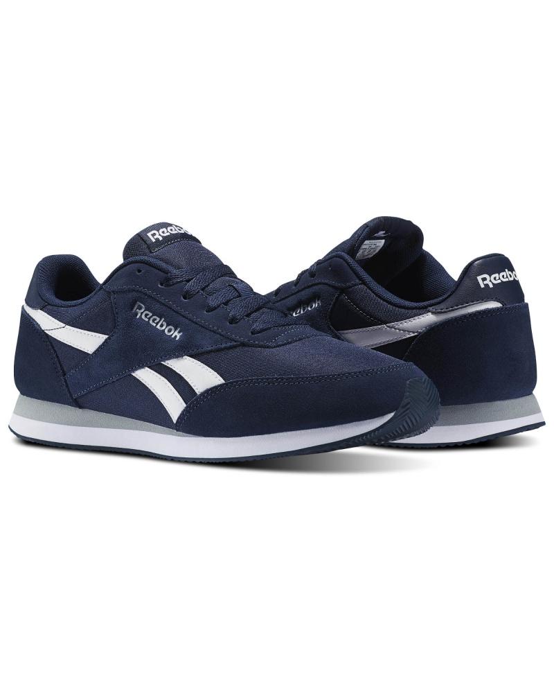 1e3303e06f1 ... Scarpe Ginnastica Sneakers Reebok ROYAL CLASSIC JOGGER 2 Uomo Blu  Originale - Sport Boots shoes Sneakers ...