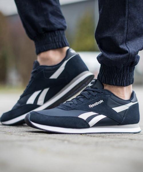 Rebook Sport Schuhe classic Sneakers Stiefel Schuhe Blau Royal classic Schuhe jogger Herren 2e7fd6