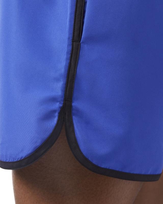 Rebook BW RETRO SHORT Short de Bain Bleu con tasche | eBay