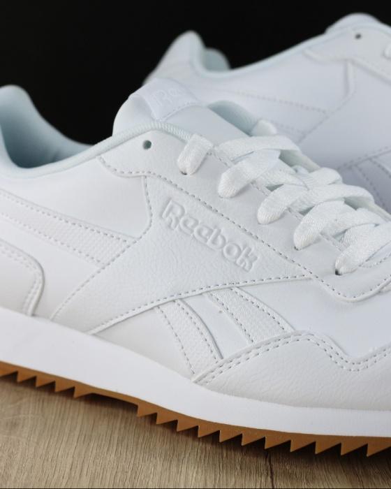quality design 0d76a ece0c ... Scarpe Sportive Sneakers Reebok ROYAL GLIDE RIPPLE CLIP Uomo Bianco  Originale - Sport Shoes Sneakers Reebok