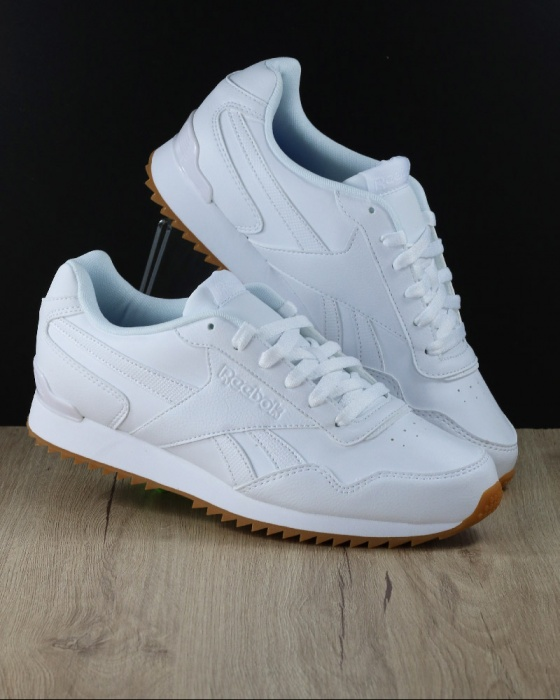 ... Scarpe Ginnastica Sneakers Reebok ROYAL GLIDE RIPPLE CLIP Uomo Bianco  Originale - Sport boots shoes Sneakers ...
