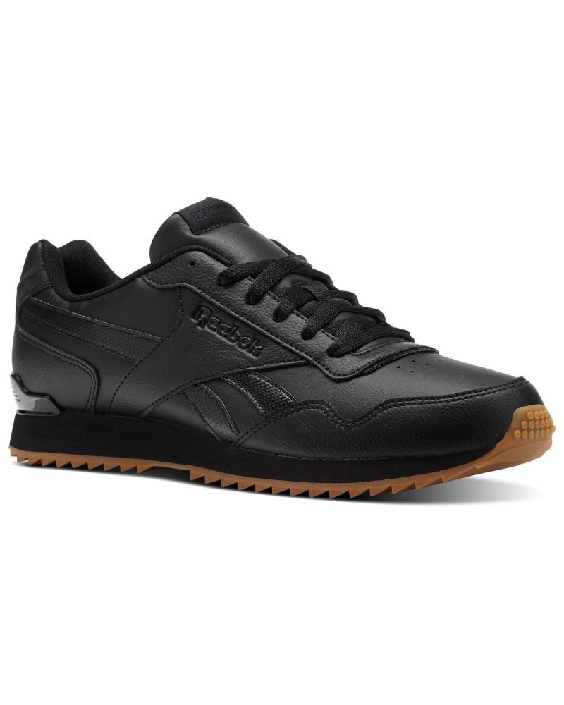 ... Scarpe Ginnastica Sneakers Reebok ROYAL GLIDE RIPPLE CLIP Uomo Nero  Originale - Sport boots shoes Sneakers ...