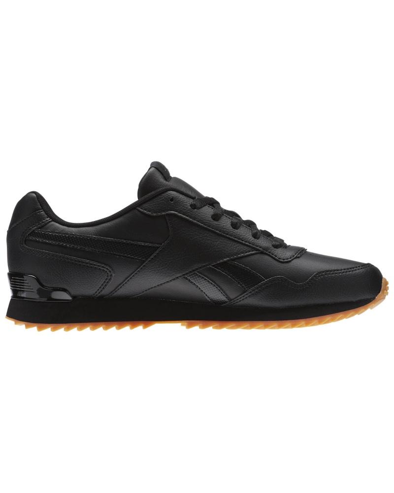 Reebok Sports Shoes Sneakers Royal Glide Ripple Clip Black | eBay