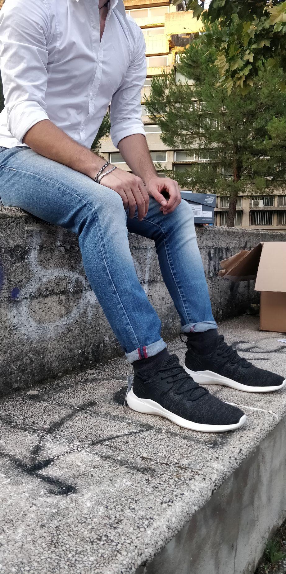 Joma-Scarpe-sportive-Sneakers-Lifestyle-sportswear-Nero-JCSM-mesh miniatura 6