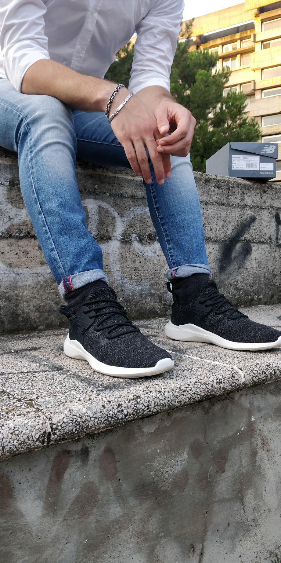 Joma-Scarpe-sportive-Sneakers-Lifestyle-sportswear-Nero-JCSM-mesh miniatura 5
