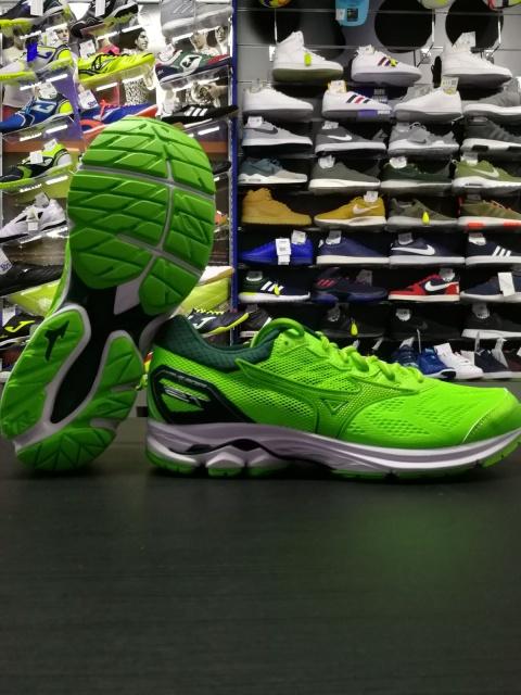 Running shoes mizuno WAVE RIDER Green 21 men-Running shoes mizuno WAVE  RIDER 21 Green ... 30b6befe3b