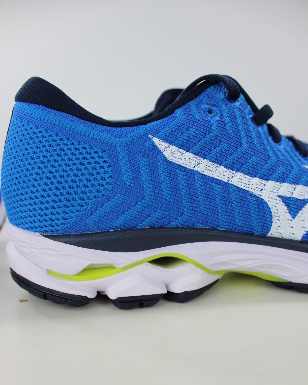 Mizuno Laufschuhe running Schuhe Turnschuhe Ausbilder WAVEKNITR1 blau Herren