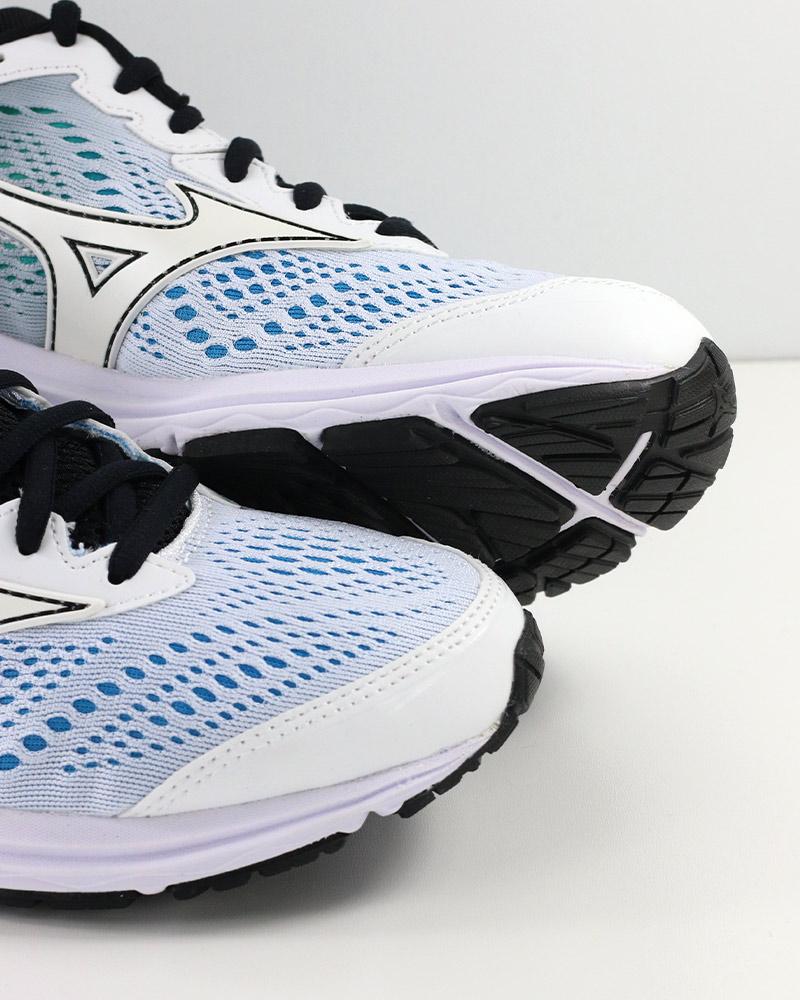 Mizuno-Scarpe-Corsa-Running-Shoes-Sneakers-Trainers-Wave-Rider-22-Bianco miniatura 9