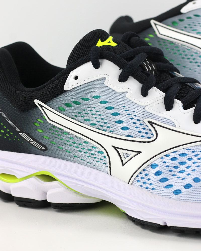 Mizuno-Scarpe-Corsa-Running-Shoes-Sneakers-Trainers-Wave-Rider-22-Bianco miniatura 7