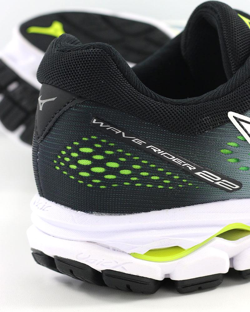 Mizuno-Scarpe-Corsa-Running-Shoes-Sneakers-Trainers-Wave-Rider-22-Bianco miniatura 10