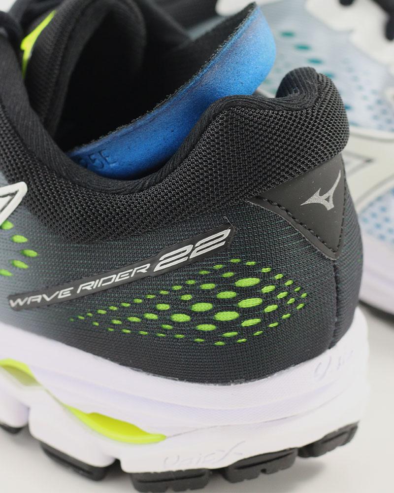 Mizuno-Scarpe-Corsa-Running-Shoes-Sneakers-Trainers-Wave-Rider-22-Bianco miniatura 3