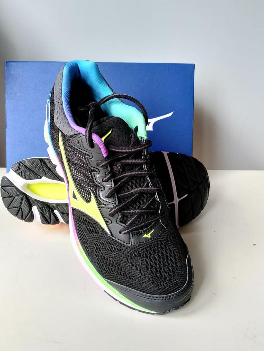 Mizuno Scarpe da Corsa Running Sneakers Trainers Wave Rider 21 Nero Precios De Liquidación Ofertas De Liquidación OqXug