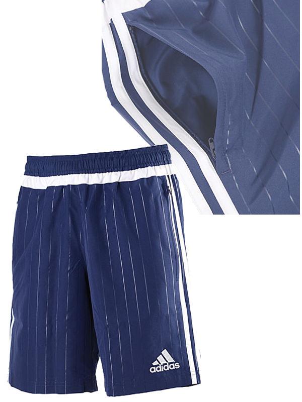 new arrivals free shipping factory outlets ADIDAS TIRO 15 Pantaloncini Shorts Hose Navy ZIP POCKETS Men ...