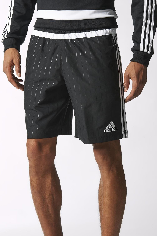tiro15 woven adidas pantaloncini shorts hose oberhalb. Black Bedroom Furniture Sets. Home Design Ideas