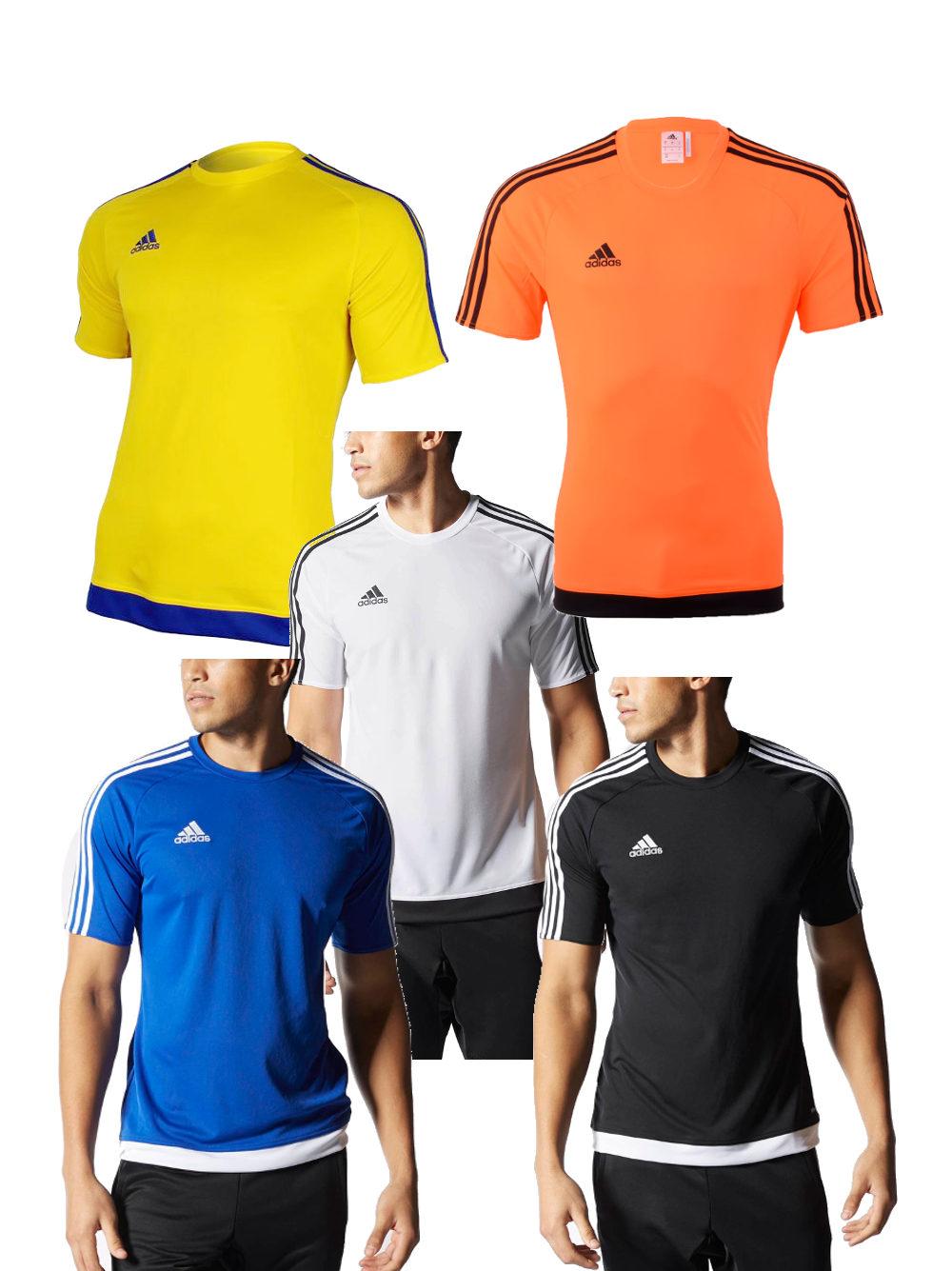 Estro 15 Top Adidas Maillot Entreinment S S Homme Climalite  7e2f462e158