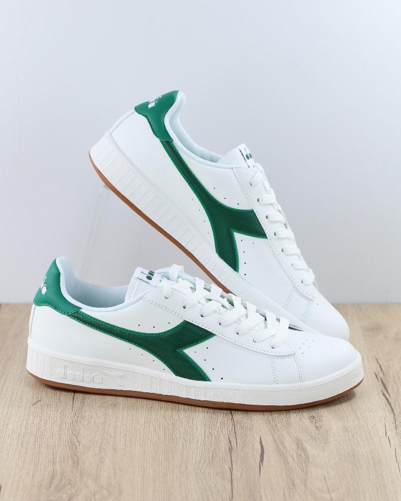 Diadora zapatos Sportive zapatillas Lifestyle Sportswear GAME P Bianco verde