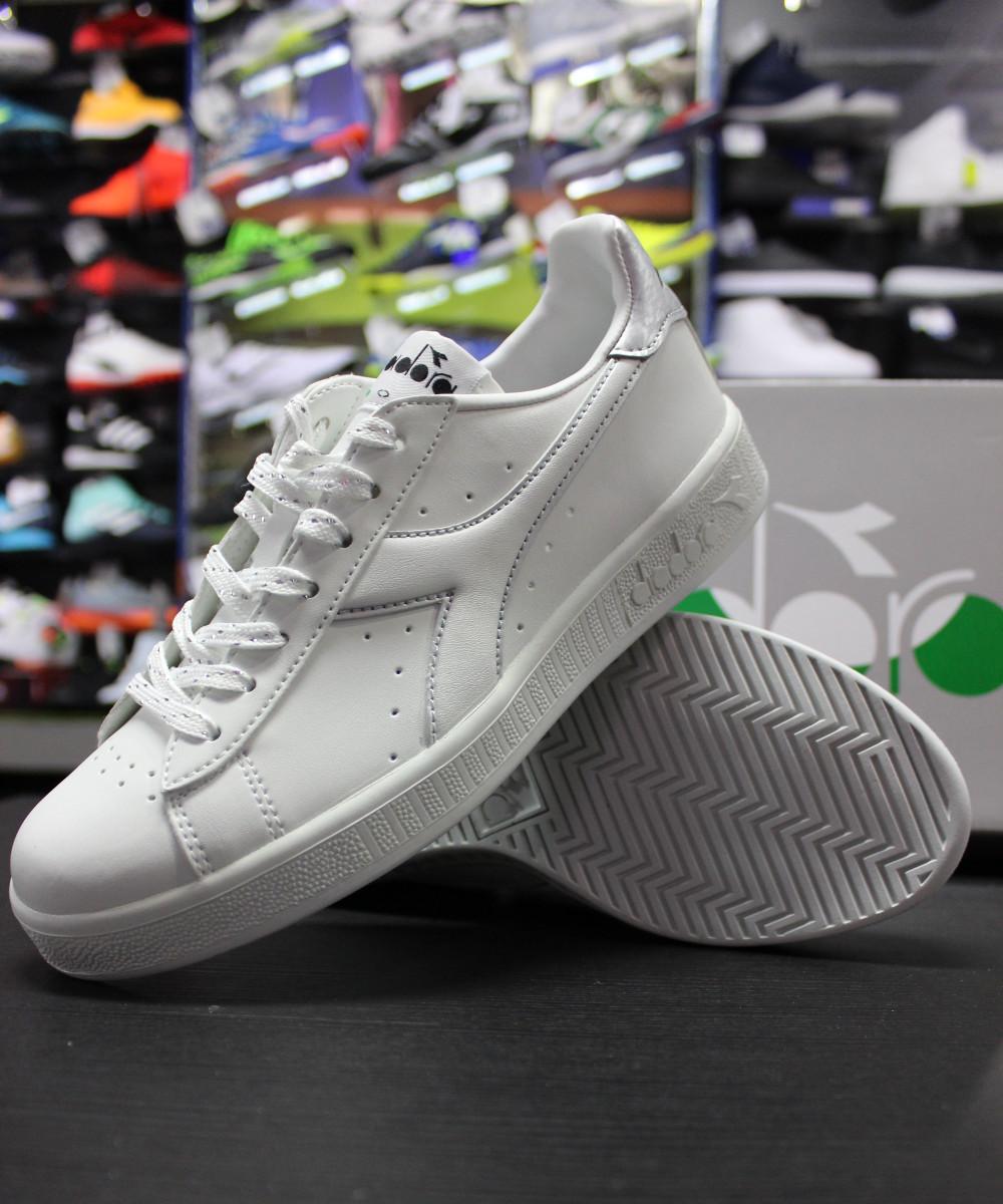 Diadora Scarpe Sneakers Ginnastica Tennis LifeStyle Game Play Donna Bianco 201