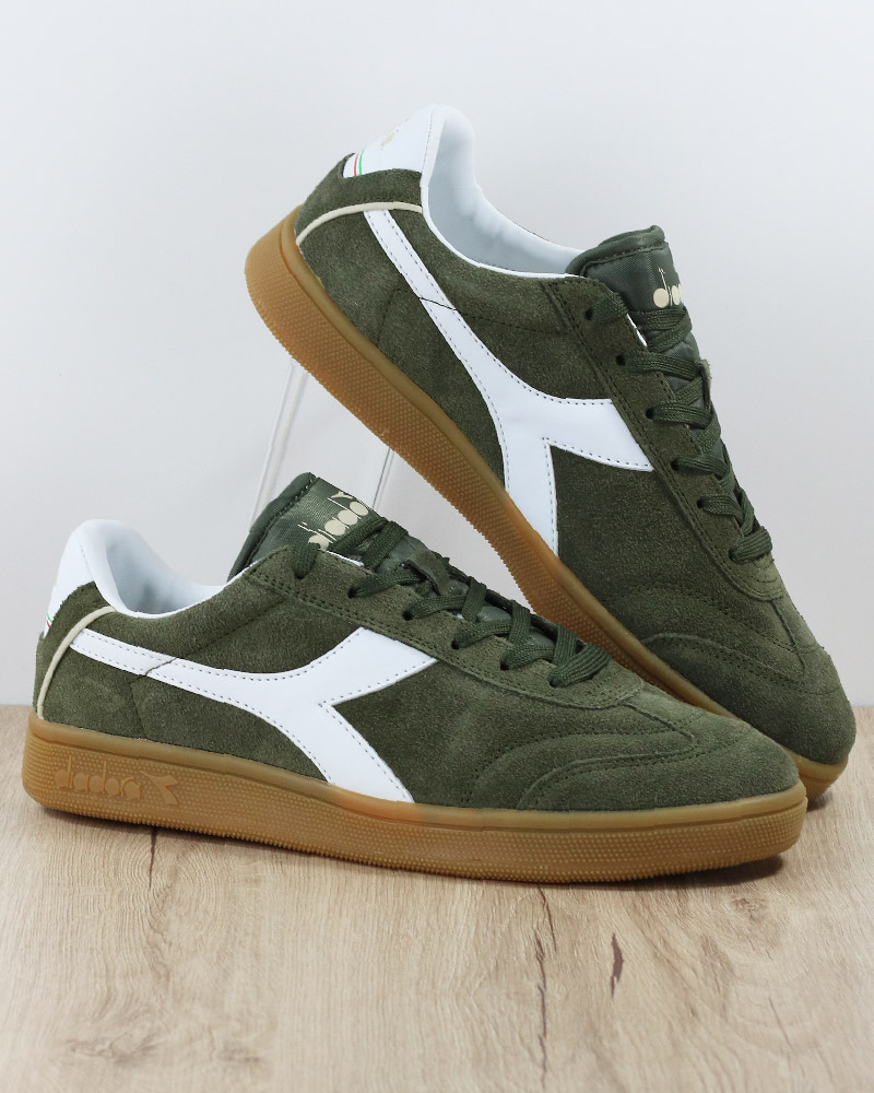 Cheap  Diadora Scarpe Sneakers Sportive Kick Suede Verde lifestyle  hot sale