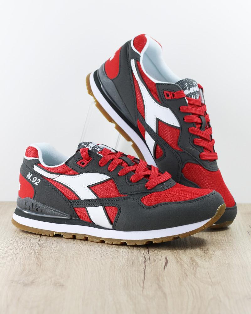 N Homme 92 Sportif Lifestyle Gris Chaussures Sneakers Sportswear Rouge Diadora wqCZ7Bx
