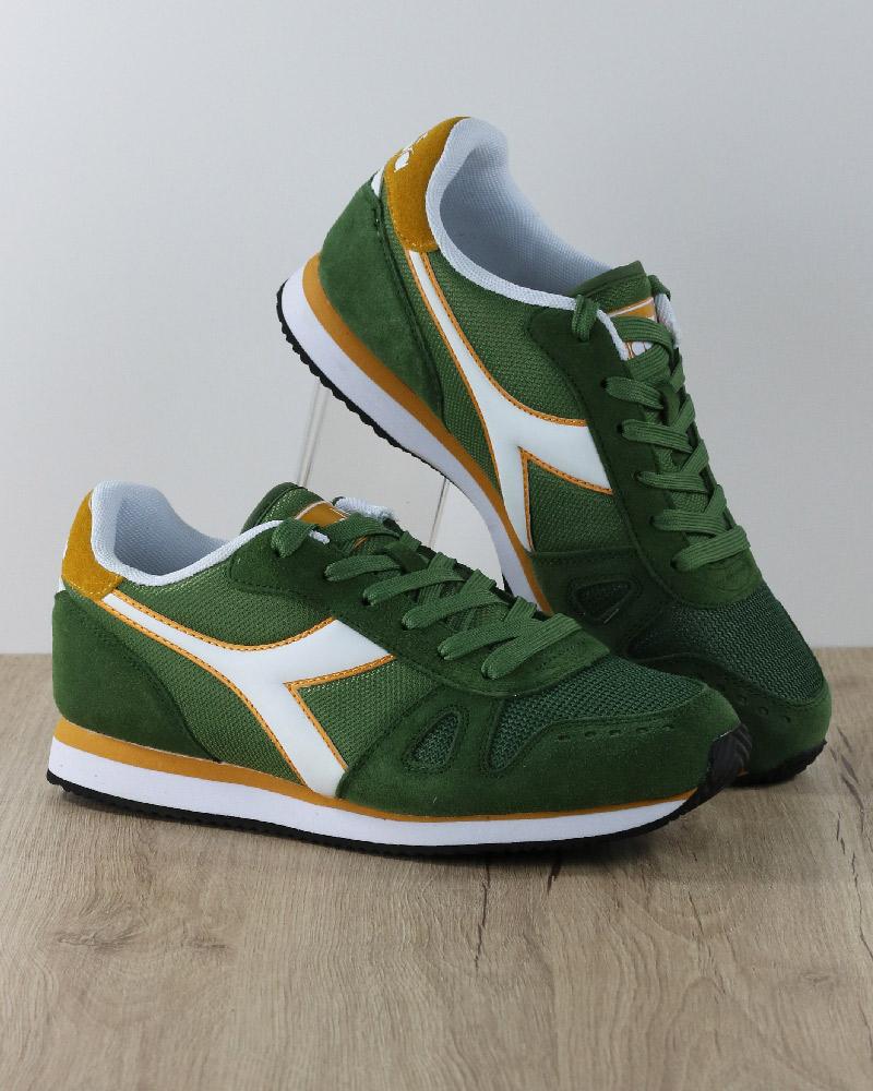 Diadora Sneakers shoes Sport Lifestyle Sportswear Green Bronze Simple Run