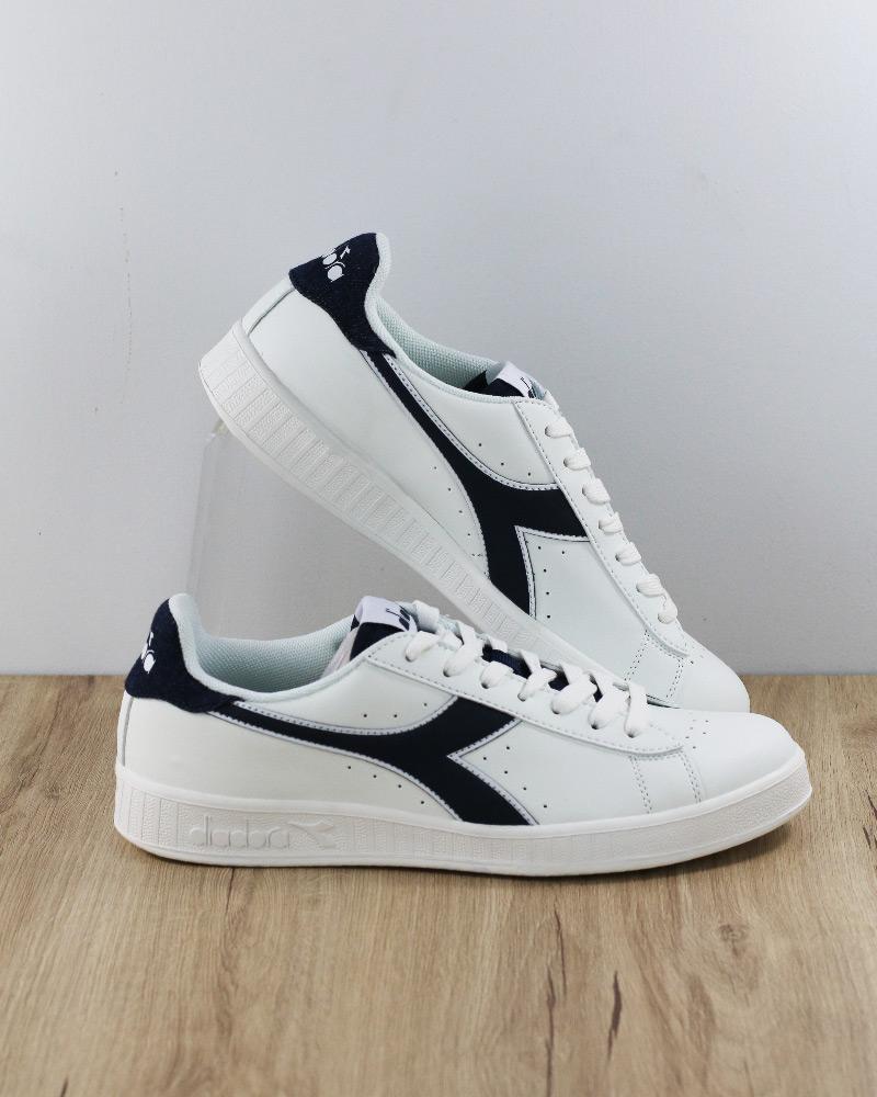 Diadora zapatos Sportive zapatillas Lifestyle GAME P Denim hombres Bianco
