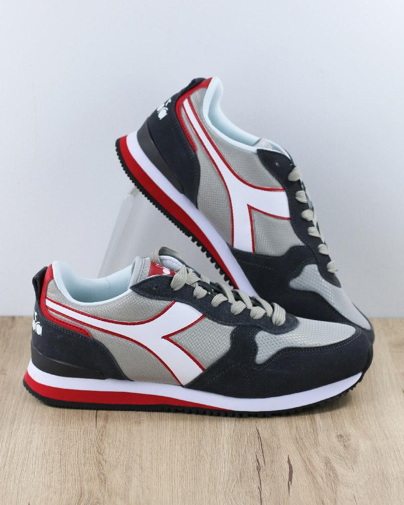 Diadora shoes Sportive Ginnastica Sneakers lifestyle grey Sportswear olympi