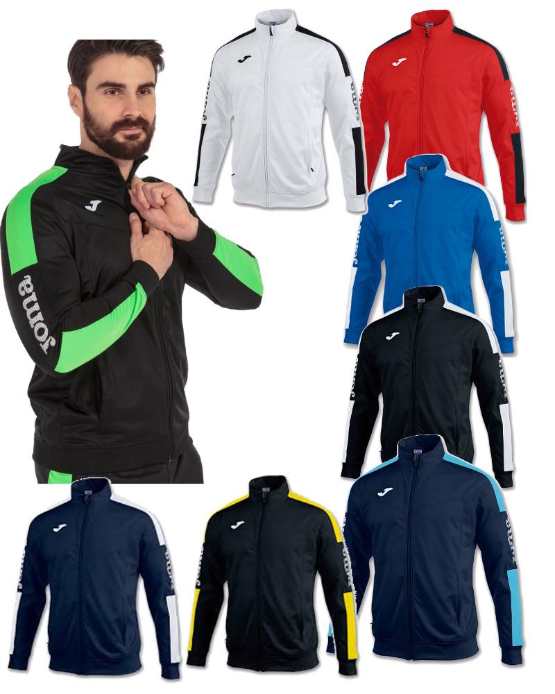 Joma-Giacca-Allenamento-Training-Jacket-Champion-IV-Polsini-a-Costine-Uomo