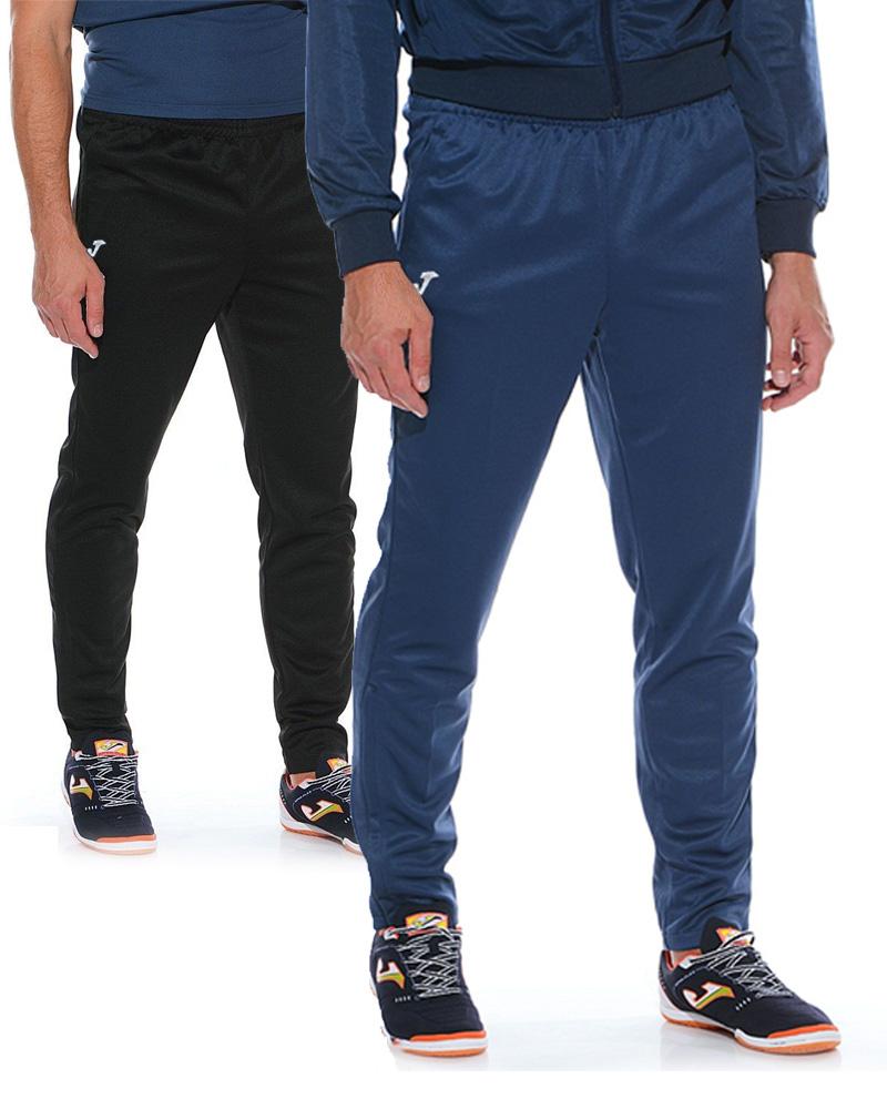 INTERLOCK-Joma-Pantaloni-allenamento-tuta-Training-Pants-Tasche-a-Zip-Uomo
