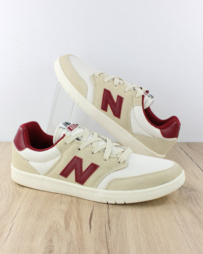 New-Balance-All-Coasts-425-Chaussures-sportif-Sport-Shoes-Sneakers-Homme-beige