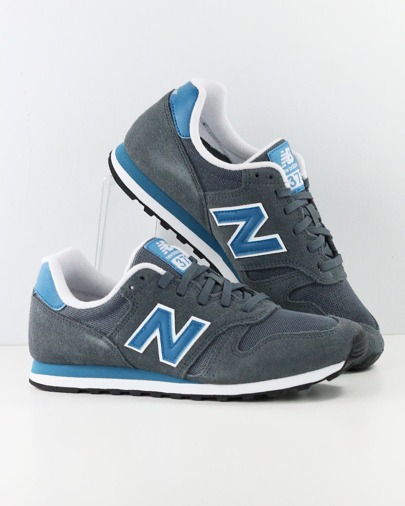 size 40 f8f84 882c7 New Balance 373 Sport Shoes Sneakers Lifestyle Gray Blue BF Modern Classics  Me | eBay