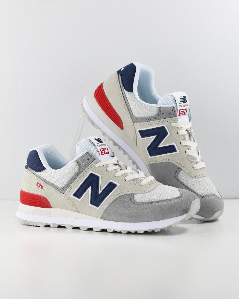 New-Balance-574-Scarpe-Sportive-Sneakers-lifestyle-Grigio-Classics-UJD