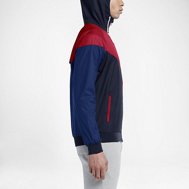 sportswear windrunner nike training jacke jacket herren blau 2016 ebay. Black Bedroom Furniture Sets. Home Design Ideas