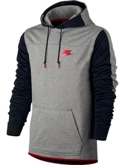 sportswear hoodie nike leisure trainingsanzug jogginganzug tracksuit 2017 grau ebay. Black Bedroom Furniture Sets. Home Design Ideas