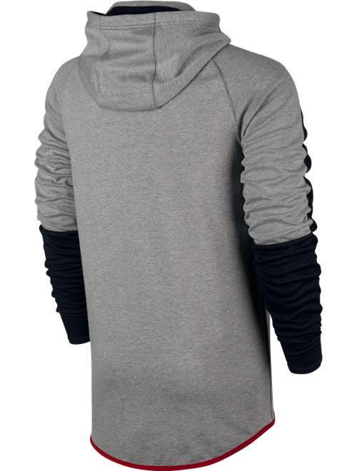 sportswear advance 15 pullover nike kapuzen hoodie grau. Black Bedroom Furniture Sets. Home Design Ideas