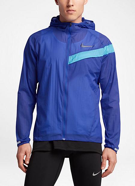 Nike Giacca Allenamento Training Jacket Uomo Blu Giacca a vento kway